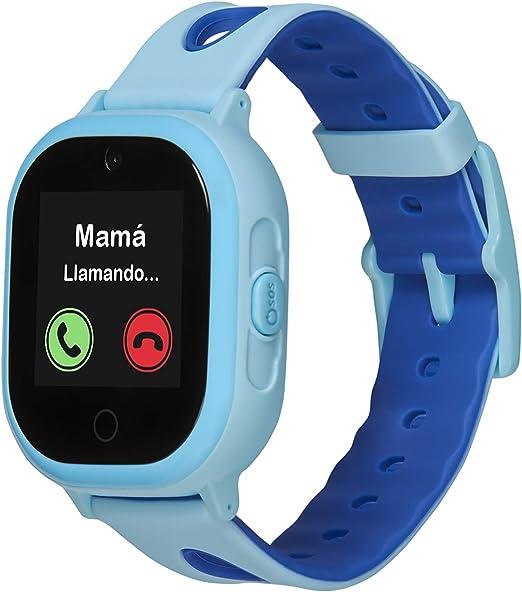 Smartwatch GPS para niños con localizador y teléfono, Resistencia ...