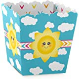 You Are My Sunshine - Party Goodie Favor Boxes - Baby Shower or Birthday Party Treat Candy Boxes - Set of 12
