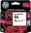 HP 46 Tri-color Original Ink Advantage Cartridge