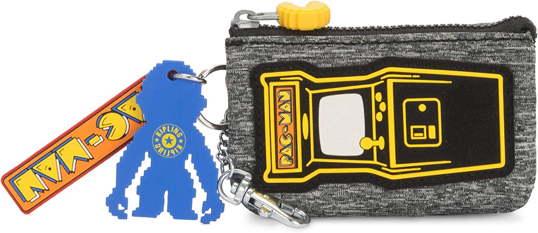 Kipling Pac-Man Creativity Mini Pouch Keychain