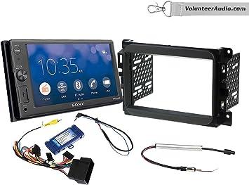 dodge ram stereo wiring sony amazon com sony xav ax1000 double din radio install kit with  sony xav ax1000 double din radio