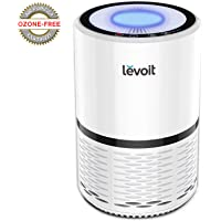 Levoit Air Purifier with True HEPA Filter Active Carbon Filtration, Captures Allergies, Bacteria, Dust, Mold