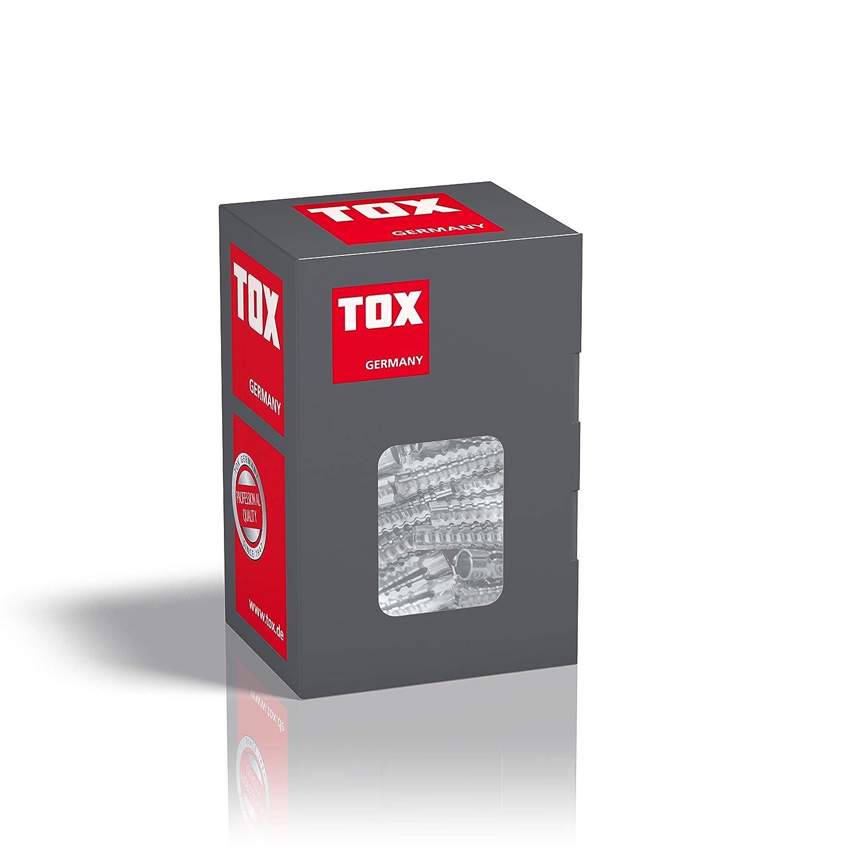 100 piezas 039100011 TOX Taco de garras met/álico Tiger 6 x 32 mm