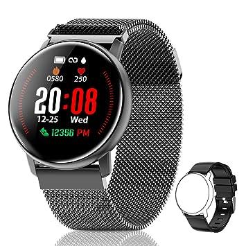 CanMixs Smartwatch, CM12 Reloj Inteligente Pulsera de Actividad ...