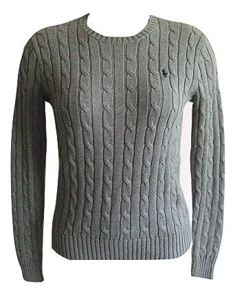 4933018ef71c5f Ralph Lauren Polo pour Femme Col Rond  Julianna  Coton Pull Irlandais pour  Chien  Amazon.fr  Vêtements et accessoires