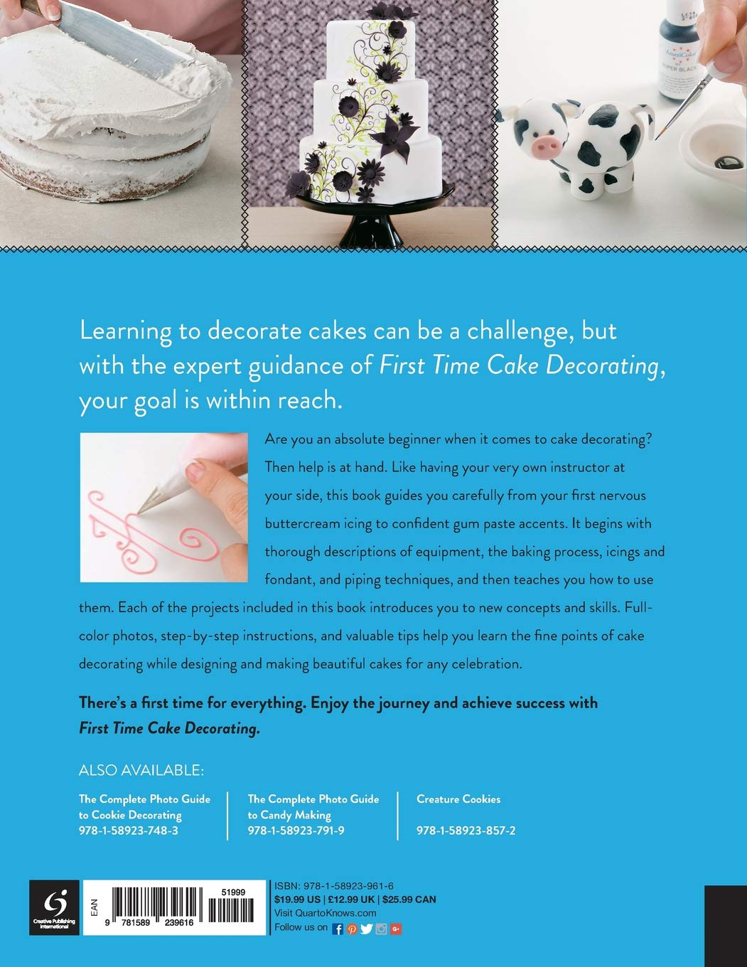 Buy First Time Cake Decorating: The Absolute Beginner\'s Guide ...