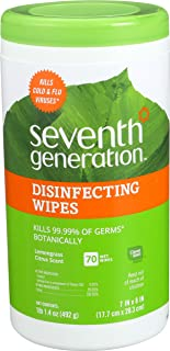 product image for Seventh Generation Disinfecting Wipes - 70 ct