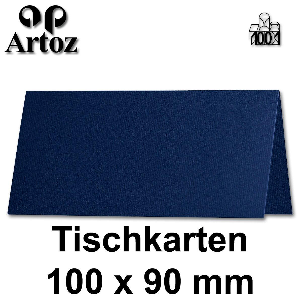 50x original ARTOZ Tischkarten//SERIE 1001//100 x 90 mm//Chamois//+alle Farben NEUSER