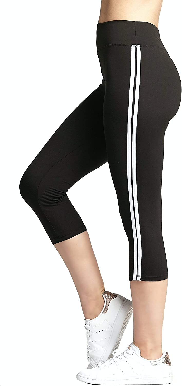 Regular and Plus Size Colors in Capri and Full Length Premium Ultra Soft High Waisted Leggings 20