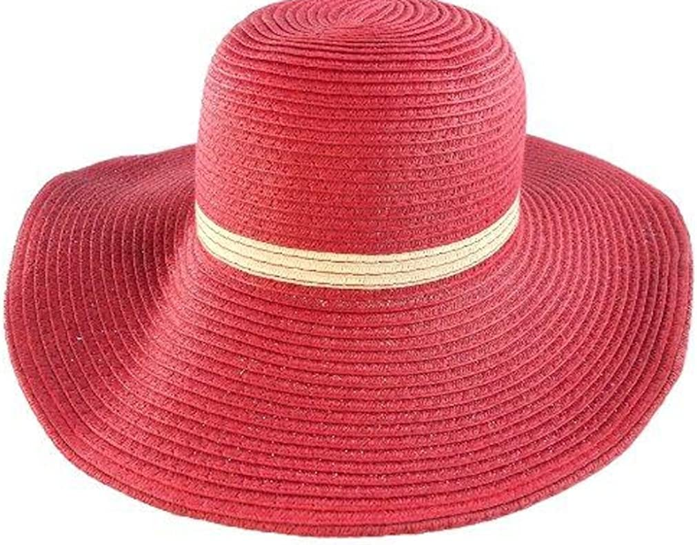 Infants  Girls Straw Hat Outdoor Sunscreen Beach Cap Sun Hat For Age 2-7 Year