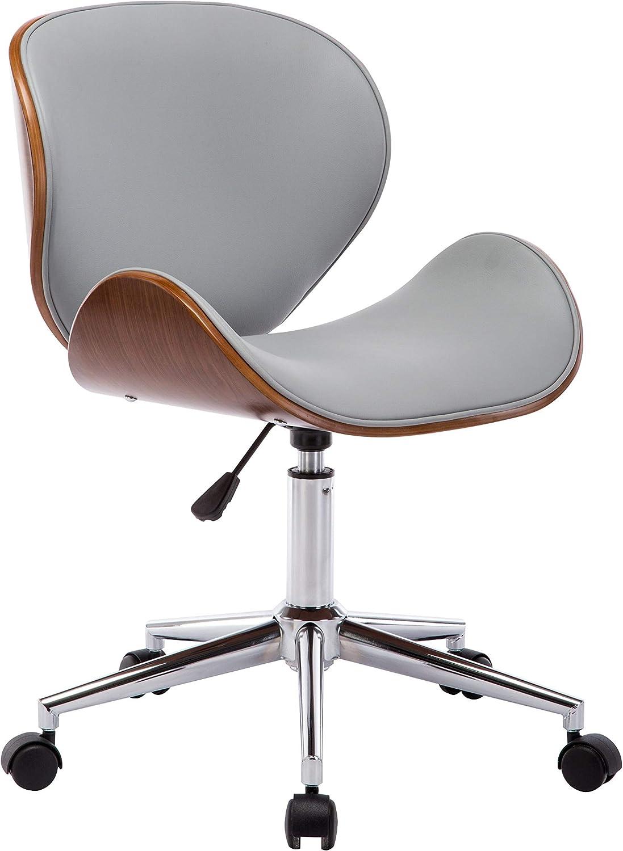 Porthos Home Sedona Adjustable Office Chair Grey