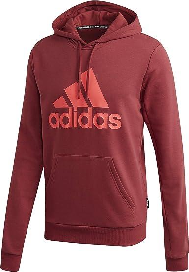 adidas Mens Mh Bos Po Ft Long Sleeve Sweatshirt
