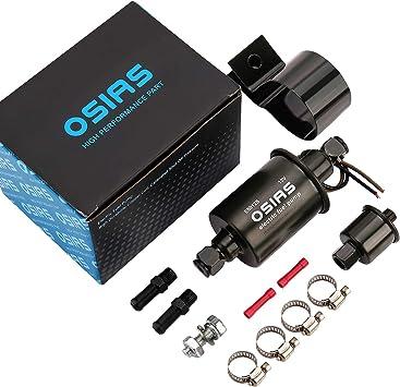 Kit de bomba de combustible eléctrica 12V para carburettors baja presión bomba