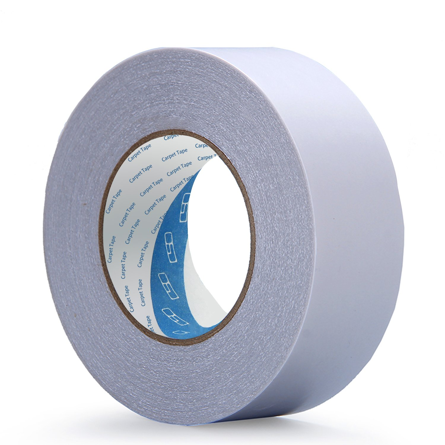 carpet edging tape. double sided adhesive carpet tape by dighealth(tm)-(2 inches x 30 yards, heavy duty, for indoor outdoor edge binding, no residue), removable carpet, edging