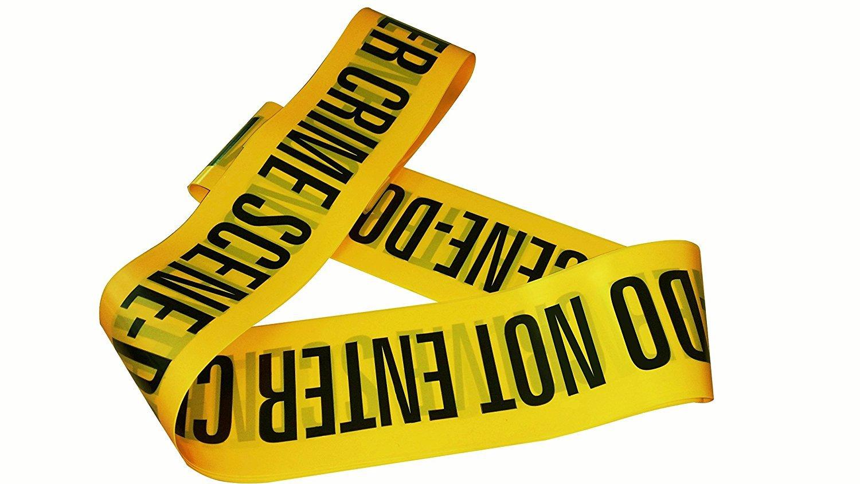 Crime Scene Do Not Enter Tape - 6m Pack ToyCenter