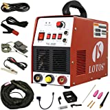 Lotos TIG/Stick TIG200-DC Welder 200Amp with pedal inverter Power Welding for stainless steel, carbon, copper and other metal