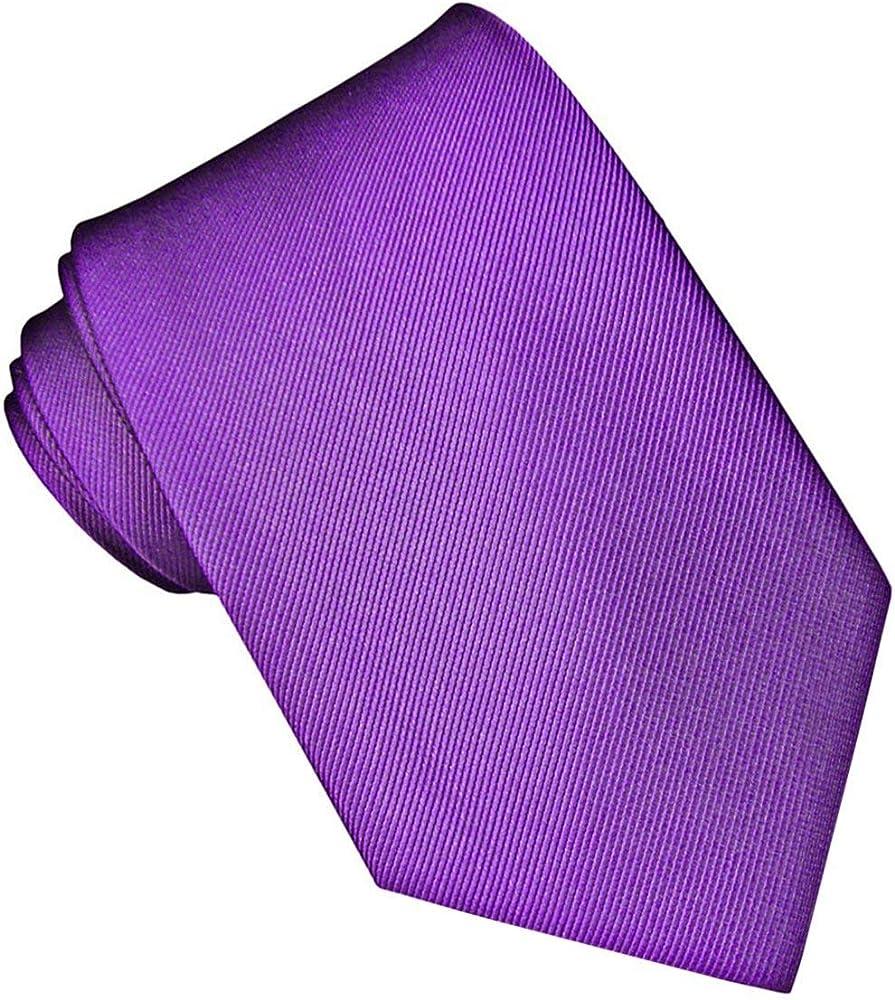 JOSVIL Corbata Seda Morada. Corbata de seda para hombre elegante y ...