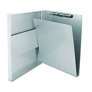 Saunders Recycled Aluminum Snapak Form Holder, Letter Size, 9 X 12 Inches (