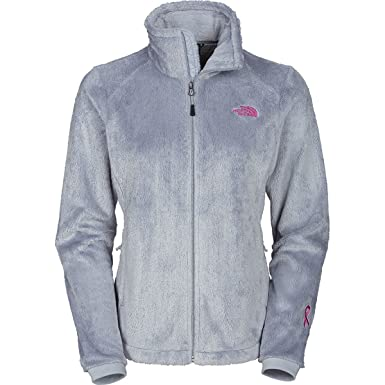 273f3caee655 ... best the north face womens pink ribbon osito 2 jacket high rise grey xs  d24a0 b25dd