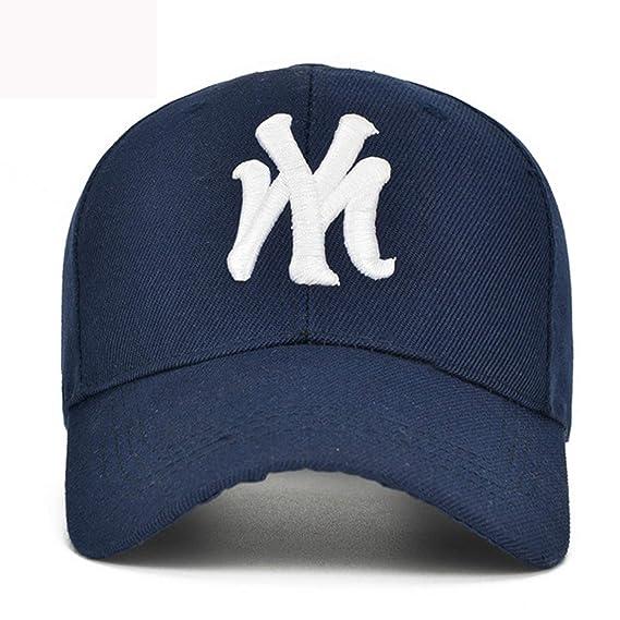 Amazon.com: Fashion My New York NY Embroidery Baseball Cap Hip Hop Cap Fitted Hockey Adjustable Hat for Men Women Gorras Unisex Cap Snapback,Rosered: ...
