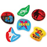 Lot Of 72 Assorted Skater Design Puffy Stickers