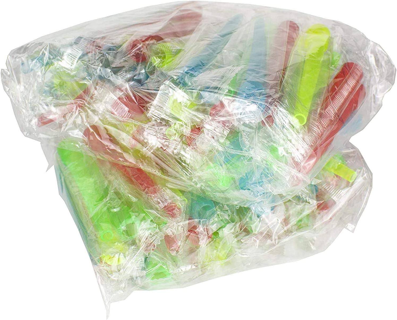 Boquillas higiénicas para cachimba - Boca para manguera de shisha - Envasadas individualmente - Diferentes colores - (Extra largas 100 unidades)