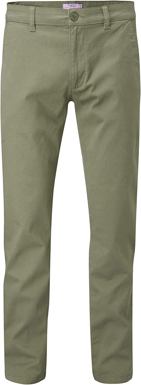 Charles Wilson Pantaloni Straight Fit in Cotone Uomo