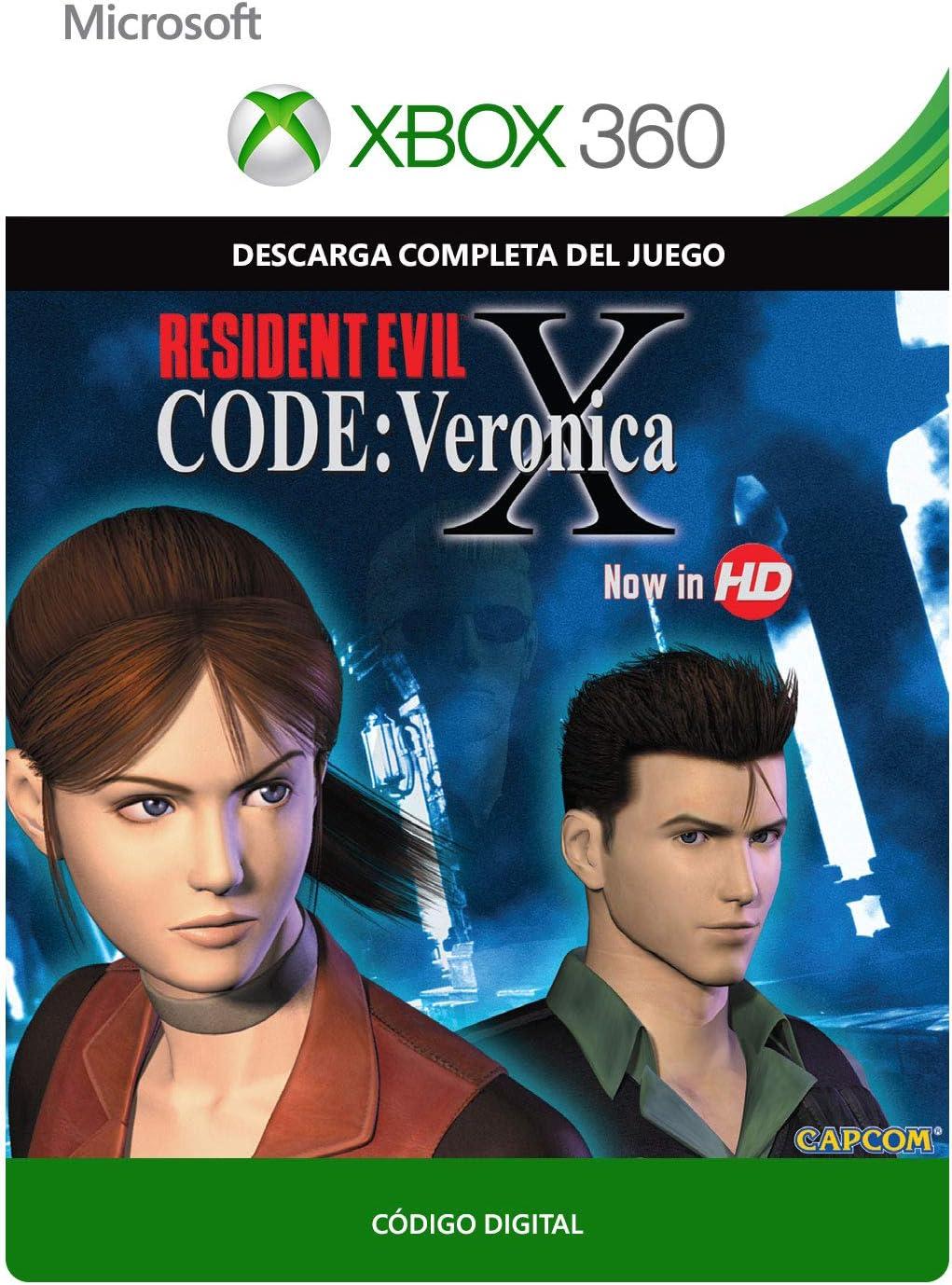 Resident Evil Code: Veronica X | Xbox 360 - Código de descarga ...