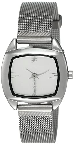 8. Fastrack Urban Kitsch Upgrades Analog White Dial Watch