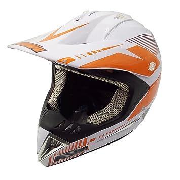 DUEBEL Cascos Integrales BMX/MTV/Cross Country, Cascos de Motocross, ECE 2205