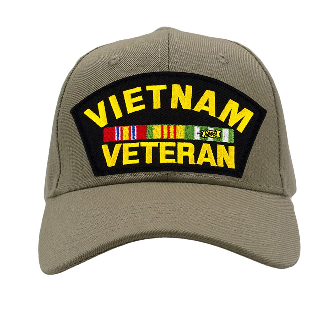 Patchtown Vietnam Veteran Hat//Ballcap Adjustable-BackOne Size Fits Most