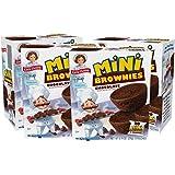 Little Debbie Mini Brownies, 4 Boxes, 20 Travel Size Pouches