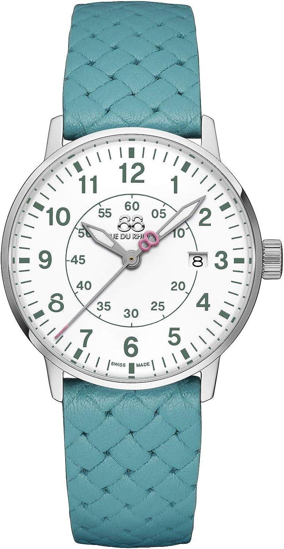 88 Rue du Rhone Reloj de Cuarzo Suizo Newold Collection para Mujer 87WA183007 Esfera Blanca