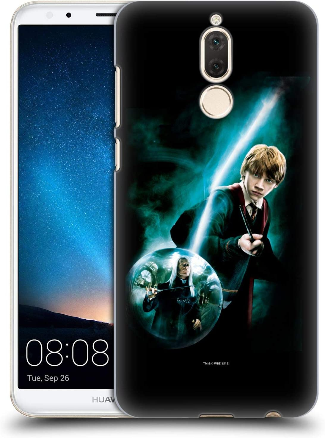 Oficial Harry Potter Ron Weasley Patronus Order of The Phoenix I Carcasa rígida Compatible con Huawei Mate 10 Lite
