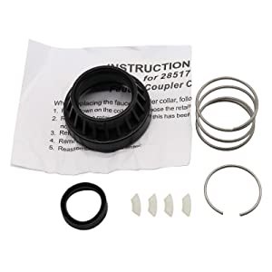 NEW Faucet Coupler Kit Replacement for  Whirlpool Dishwasher 3249 285170 AH334438 PS334438 WP285170