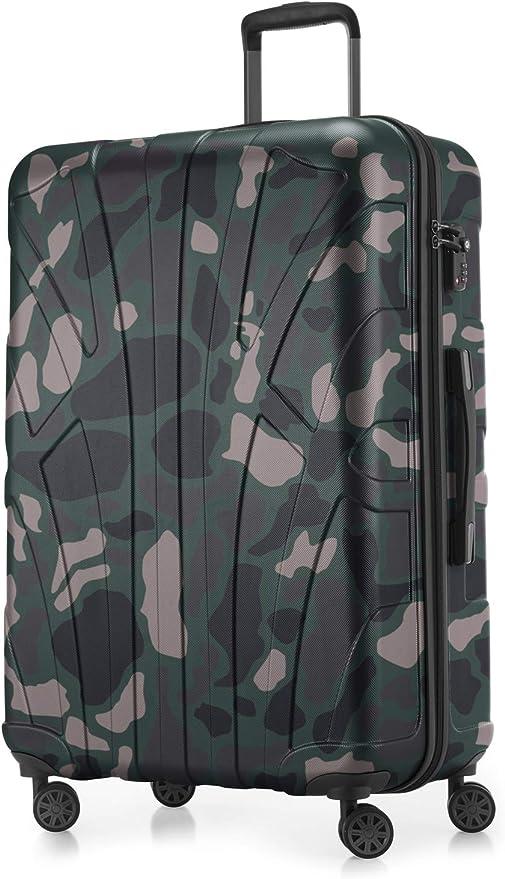 Suitline - Maleta rígida, Equipaje de Viaje, TSA, 76 cm, Aprox. 96 ...