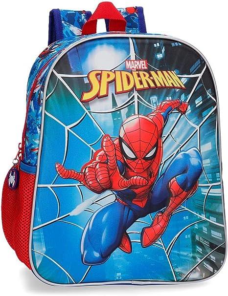Spiderman Valigia Spiderman Street Bambini 39x50x20cm