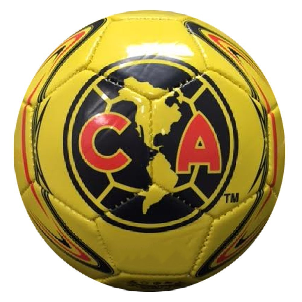 Rhino X Club America Crest Yellow Mini Ball Size 2