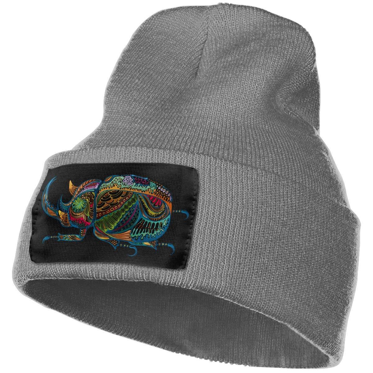 Creative Artistic Colorful The Beetle Warm Winter Hat Knit Beanie Skull Cap Cuff Beanie Hat Winter Hats for Men /& Women