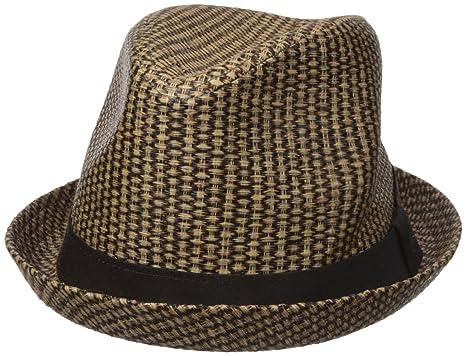 cb2653f58a0f4 Dockers Men s Straw Fedora Hat at Amazon Men s Clothing store