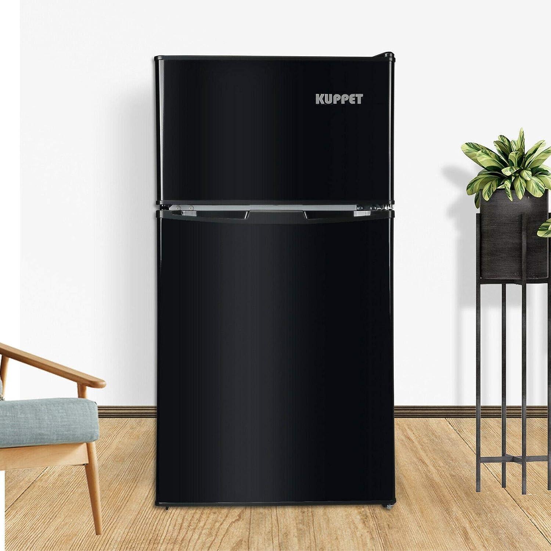 Mini Refrigerator Fridge Freezer Compact 3.2 Cu Ft