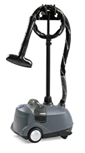 The Sharper Image In-Home Professional Garment Steamer, Black