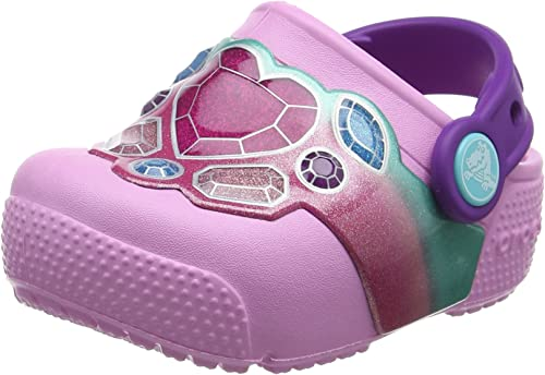Crocs Kids Fun Lab Light-up Girls Graphic Clog