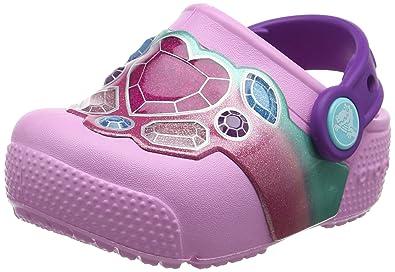 crocs Unisex Kid s Crocsfunlab Lights Pink Clogs-9 (204133-96A)  Buy ... 75e6fea8c0d