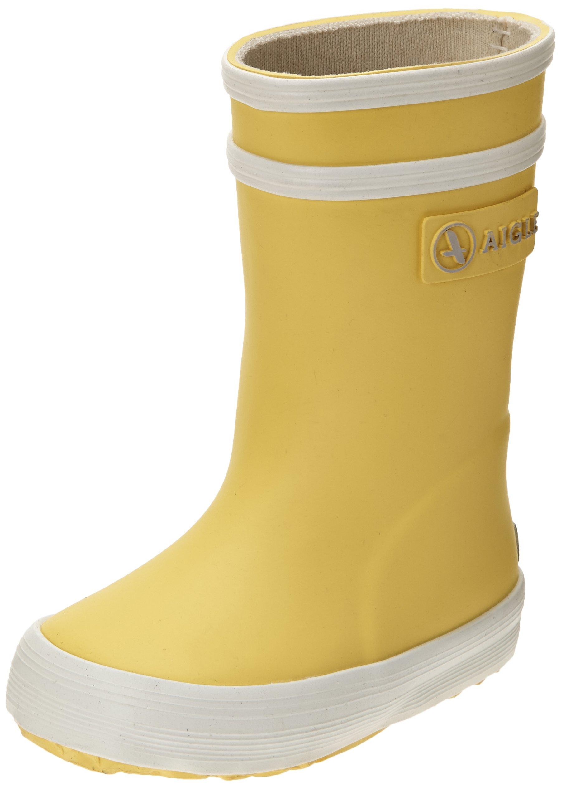 new arrivals 14189 29f33 UK Kids' Boots New 001) Aigle Flac' Wellington Baby (Jaune ...