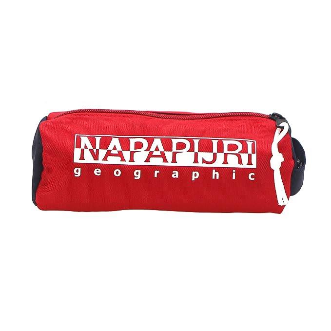Napapijri - Happy Pencil Case, Bolsos Bandolera Unisex Adulto, Mehrfarbig (Multicolour), 9x9x22 cm (B x H T): Amazon.es: Equipaje