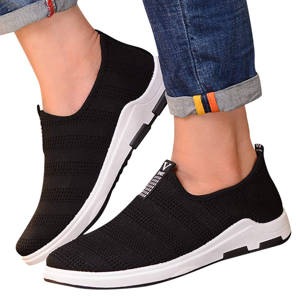 KERULA Sneaker Herren Damen Sommer Breathable Mesh Casual Flache Schuhe Rutschfeste Bequeme Turnschuhe Outdoor Sicherheitsschuhe Trekkingschuhe Laufschuhe Sneakers