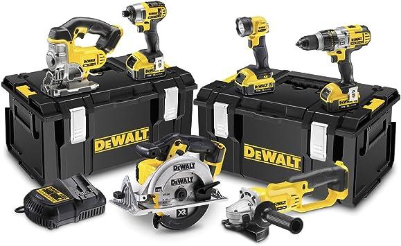 Dewalt DCK692M3-GB - Juego de herramientas eléctricas (18 voltios ...