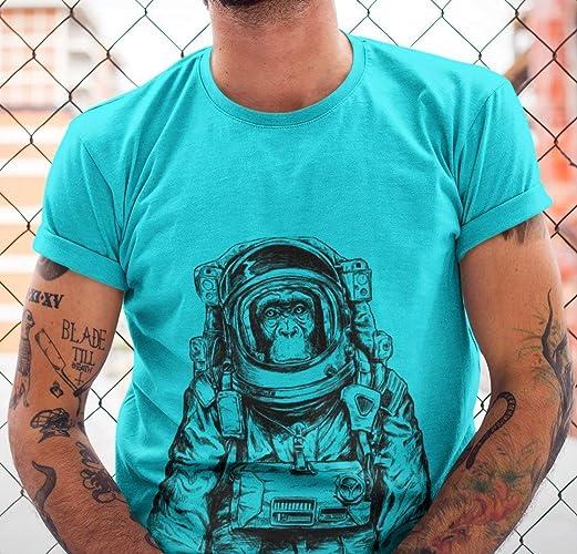 b0d6dc40122268 Amazon.com  Monkey Astronaut Tshirt