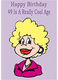 Age 49 Birthday Card